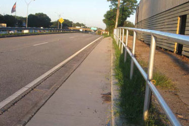 Arlington Expressway at Bethelite Bus Pull-Out and Sidewalk Design