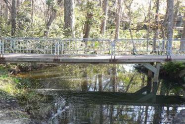 Pine Avenue Pedestrian Bridges