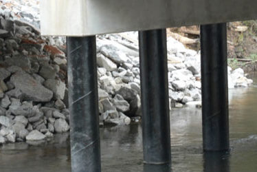Pineville Road Bridge